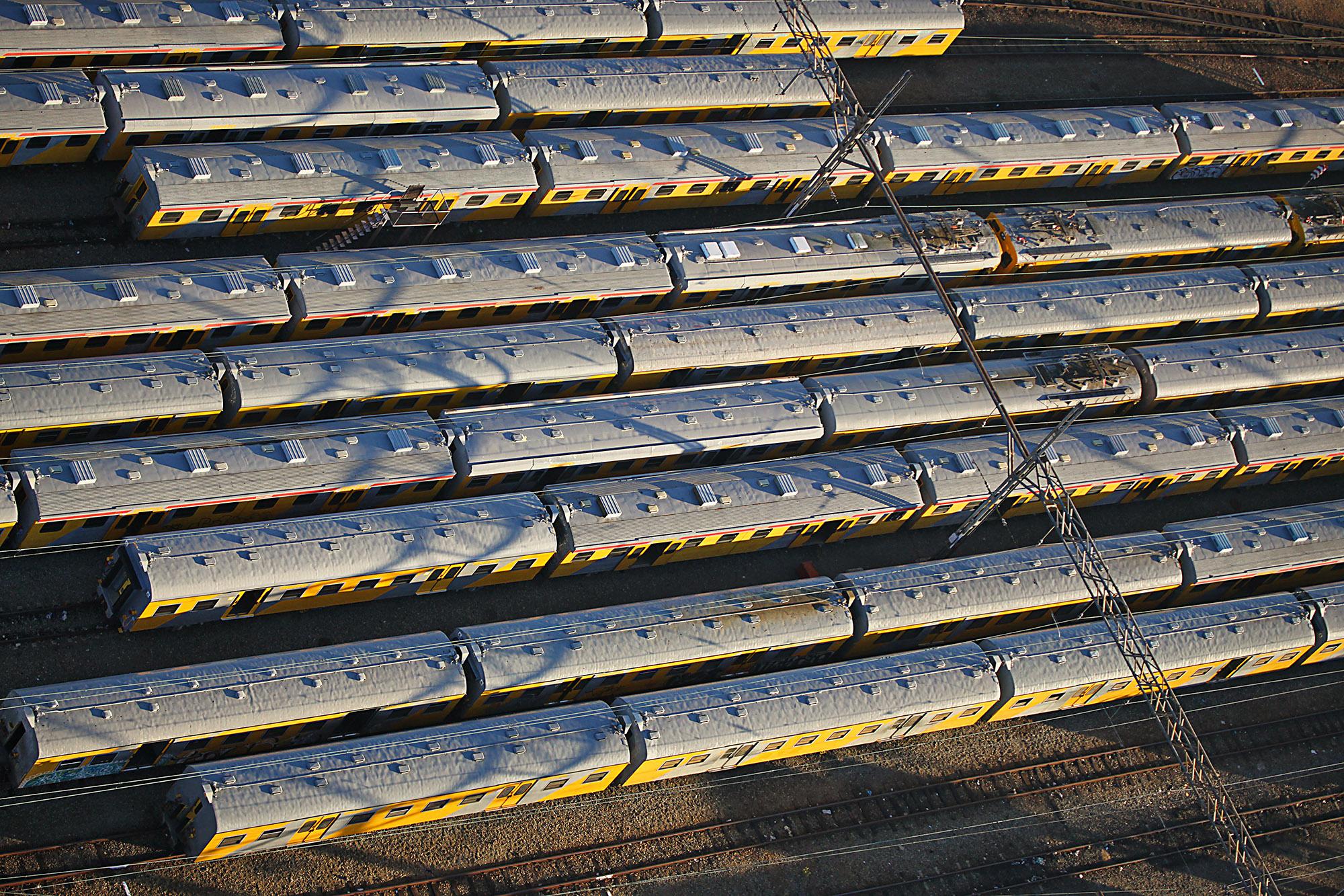 Trains, Johannesburg