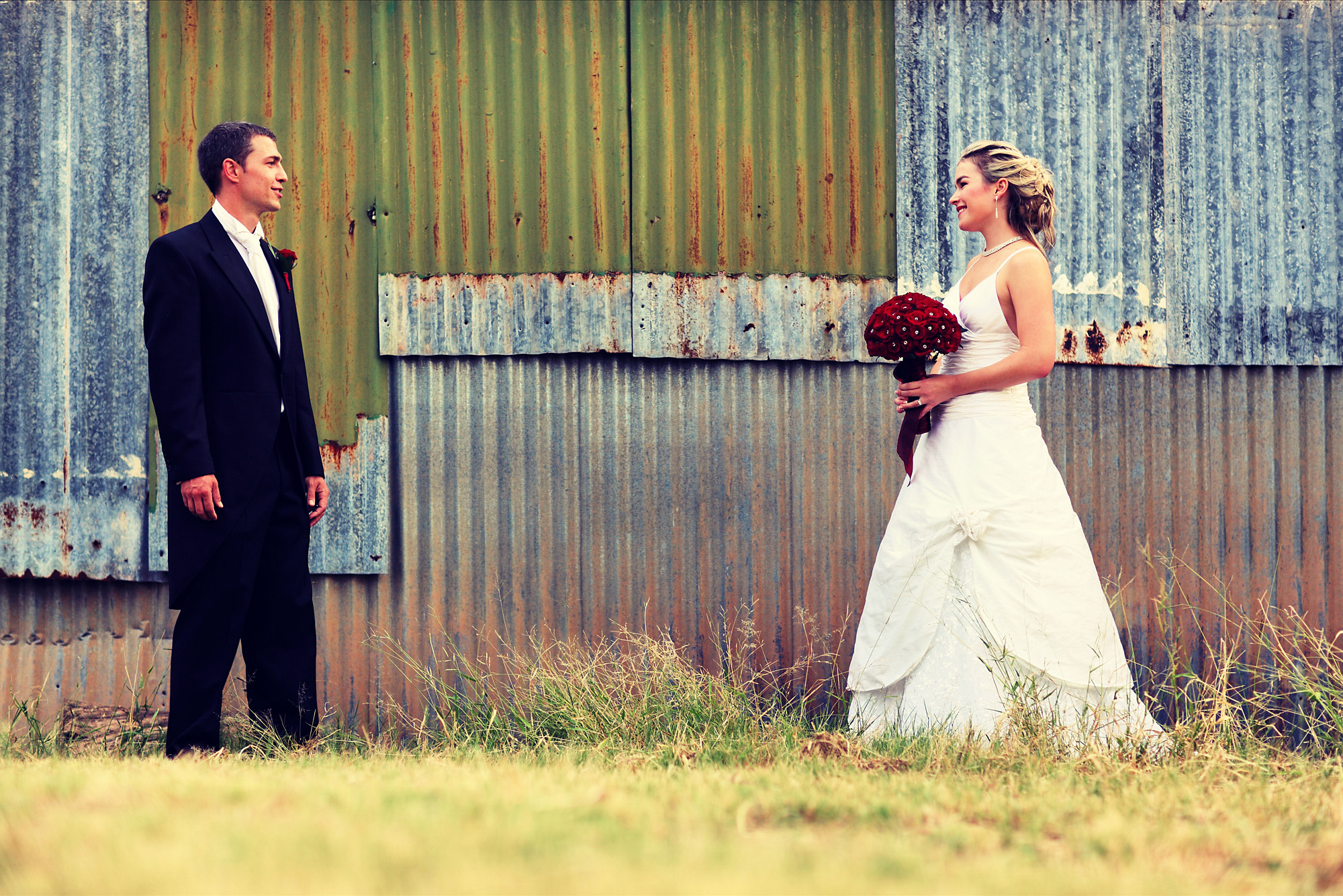 Newlywed photograph